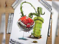 Super Mario Terror : Piranha Plant