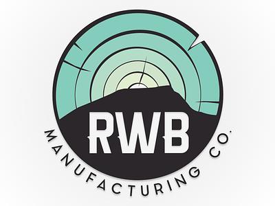 RWB Manufacturing Co. lookout mountain dbm wood kendama rwb logos