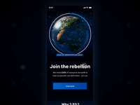 XR Signup concept