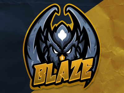 Mascot Logo Blaze (For Sale) illustraion illustrator esport logo esport esportlogo logo design mascot logo