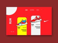 Nike Run UI Design