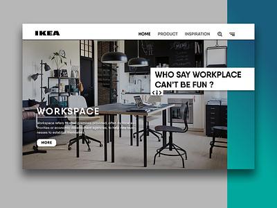 IKEA - Minimalist UI furniture ikea app design app ui illustration design