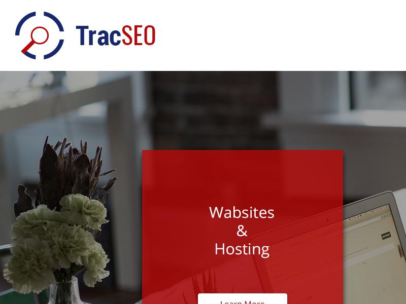 TracSEO Website Design responsive seo graphics design ux ui web website
