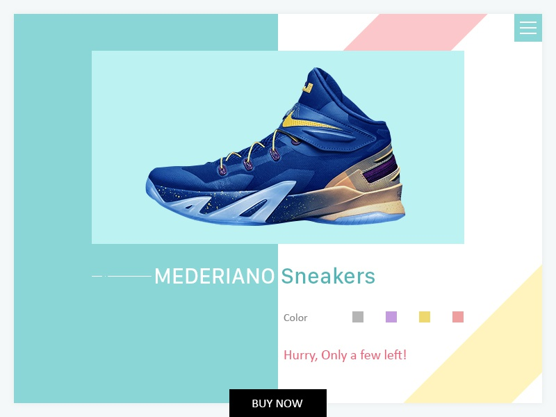 Product Page UI purchase buy now template layout website ux ui store shop product ecommerce app
