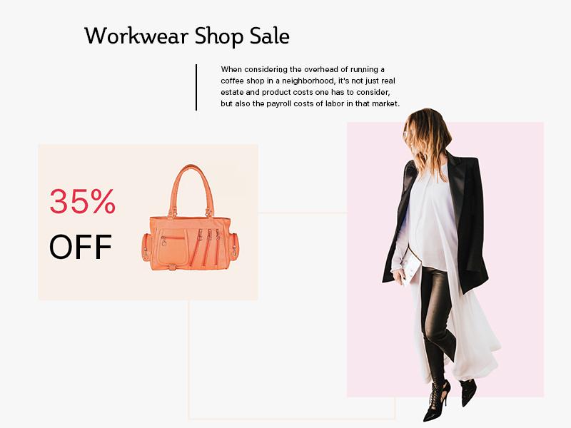 Website UI design layout landing web design template flat clean fashion ux ui website web