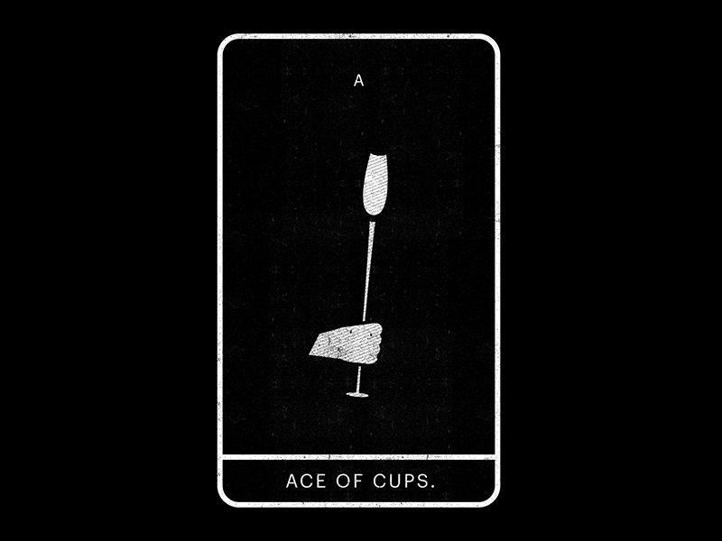 Ace of cups dribbble