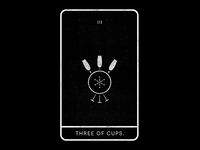 Three of Cups.