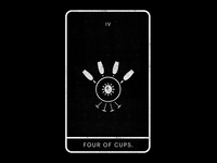 Four of Cups.