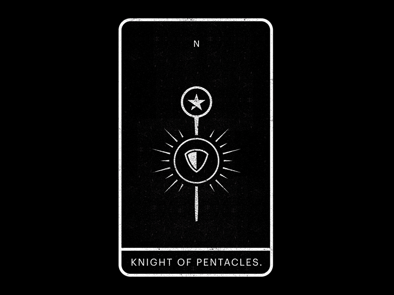 Knight of Pentacles  by Raphael Arar on Dribbble