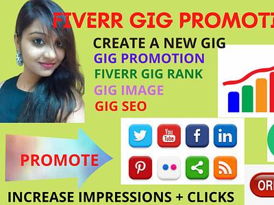 Fiverr Gig Promotion emailmarketing facebookmarketing マツケンサンバ mステ bobby ranktop gigpromotion consultationaudienceresearch socialmediamarketing digitalmarketing