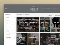 Man about Dog Ecommerce Website Design