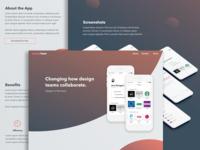 Design Team App Showcase Website