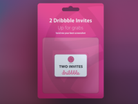 2 invites up for grabs