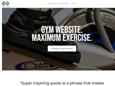 Gym site
