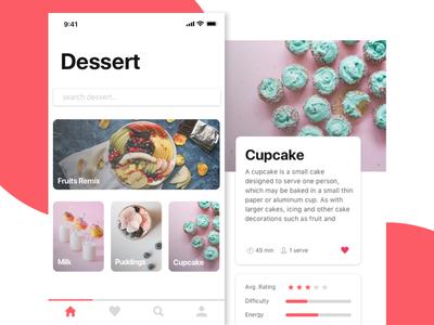 Dessert Mobile App