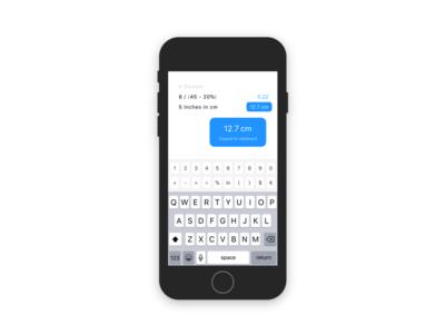 Numi for iOS minimal iphone ios mac calculator numi