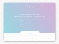 Sign Up form (Daily UI #001)