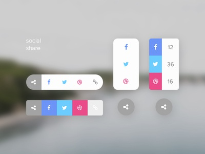 Social Share (Daily UI #010)
