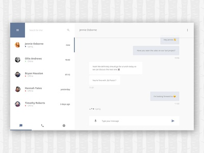 Direct Messaging (Daily UI #013) daily ui 013 013 dailyui challenge direct messaging chatapp social media messaging chat ux ui