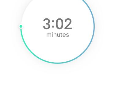 Countdown Timer (Daily UI #014) app clock timer countdown ui ux challenge dailyui 014 daily ui 014