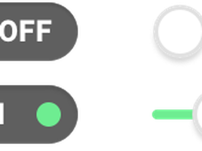 On / Off Switch (Daily UI #015) daily ui 015 015 dailyui challenge ux ui buttons toggle switches switch