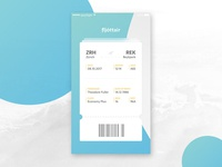 Boarding Pass (Daily UI #024)