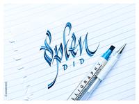 Splendid | Hand-lettering