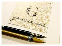 Gratitude. Hand-lettering