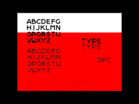 Font Book Red