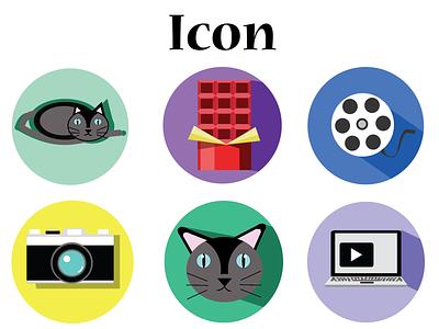 Random Icon flatdesign flat graphic design vector icon illustration design