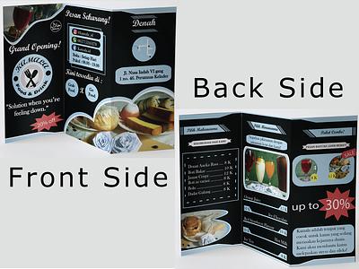 Food Brochure Design mockup branding foodbrochure food brochure graphic design design
