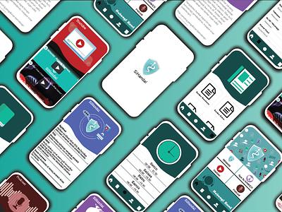 SiHandal App UI appdesign user experience user interface app mobile flat ux ui illustration graphic design design