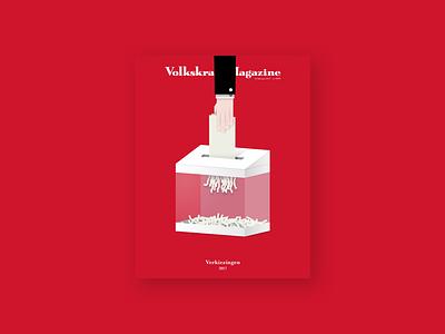 Volkskrant Magazine - Cover illustration politics election illustration dutch elections cover magazine volkskrant