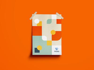 Promo poster webshop platform cloudshop brand design poster e-business shop promotional promo