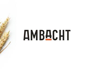 Unused logo concept - Ambacht branding monogram a crafting craft logo brand platform website retail ambacht