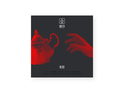 High Tea Music - Redesign album art cover teapot rebrand rebranding music label record brand tea high tea