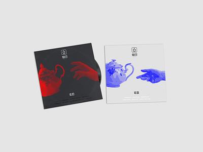 High Tea Music - Album cover redesign album art cover teapot rebrand rebranding music label record brand tea high tea