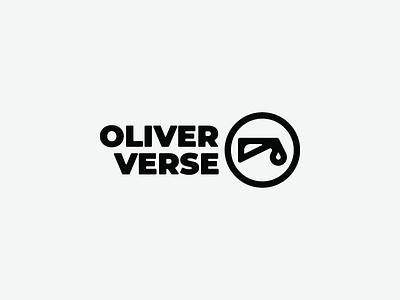 Oliver Verse - Logo design mark brand music logo refresh oil oliver verse
