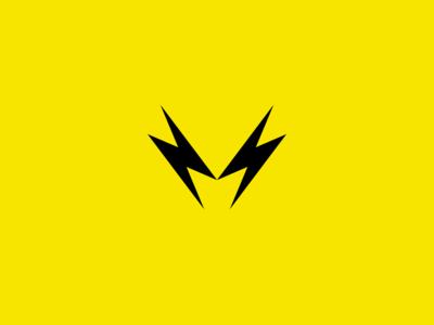 M monogram - Logo concept