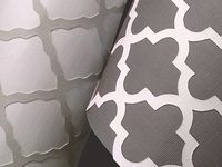Cut paper rug patterns