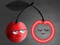 Neon cherry