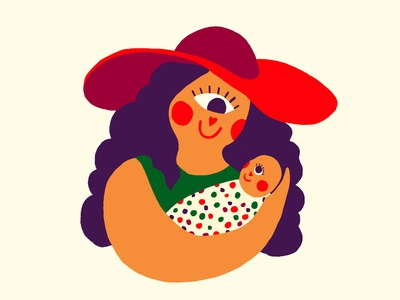 EYE ❤ U : Mom & Baby
