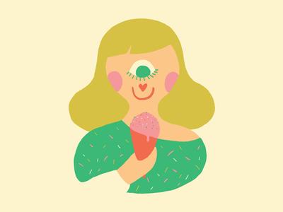 EYE ❤ U : Ice Cream
