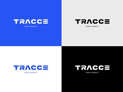 Tracce. Logo web agency web agency creative agency web agency logotype logo