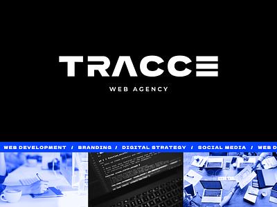 Tracce. Logo web agency agency web branding graphic design logo
