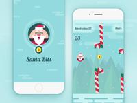 Santa Bits - mobile game