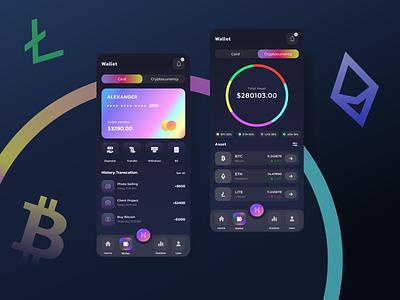 Wallet Mobile Design cryptocurrency wallet design mobile app ux ui