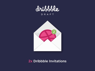 2x Dribbble Invites To Give Away!