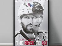 Alex Ovechkin vs Patrik Laine Poster