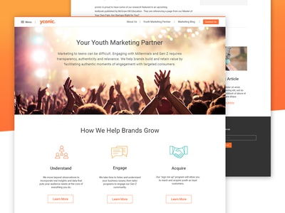 Marketing Site Design